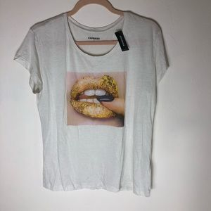 NWT EXPRESS graphic tee